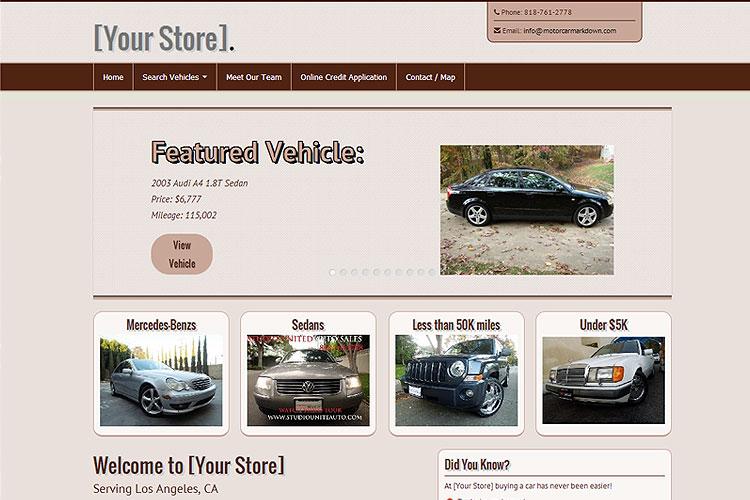 Motorcar Marketing — Results Driven Auto Dealer Marketing Tools